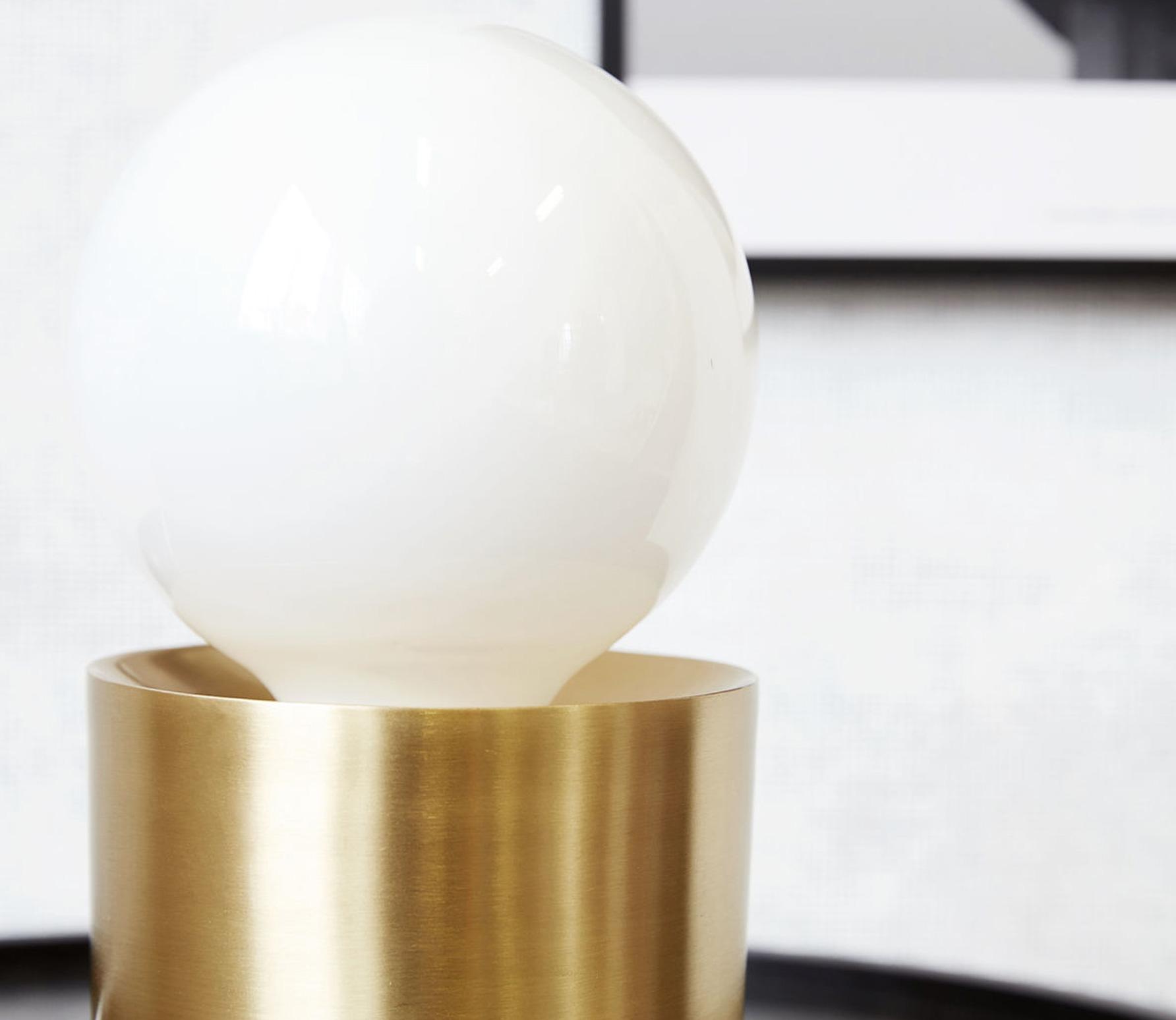 Housedoctor Gleam tafellamp brass finish sfeerbeeld 2