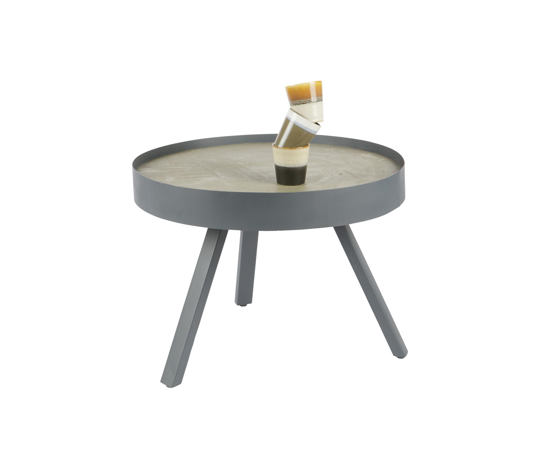 WOOOD Skip salontafel beton Medium grijs vrijstaand 1