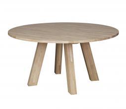 Afbeelding van product: WOOOD Rhonda eettafel XL Ø150 cm eiken blank