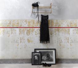 Afbeelding van product: BePureHome Hatstand hangende kapstok metaal antique brass