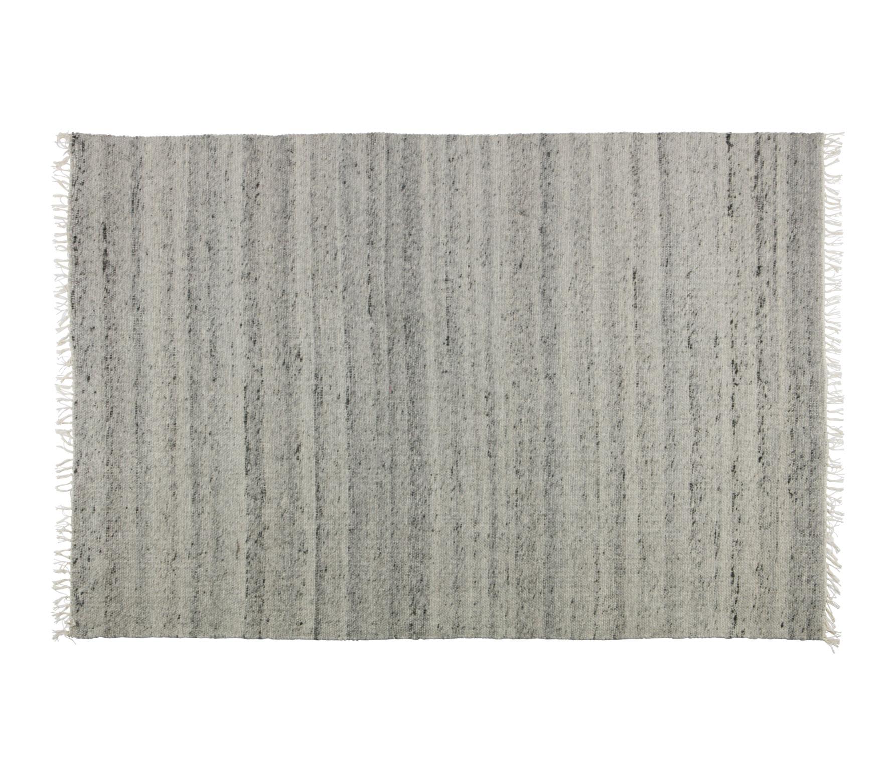 BePureHome Fields vloerkleed grijs