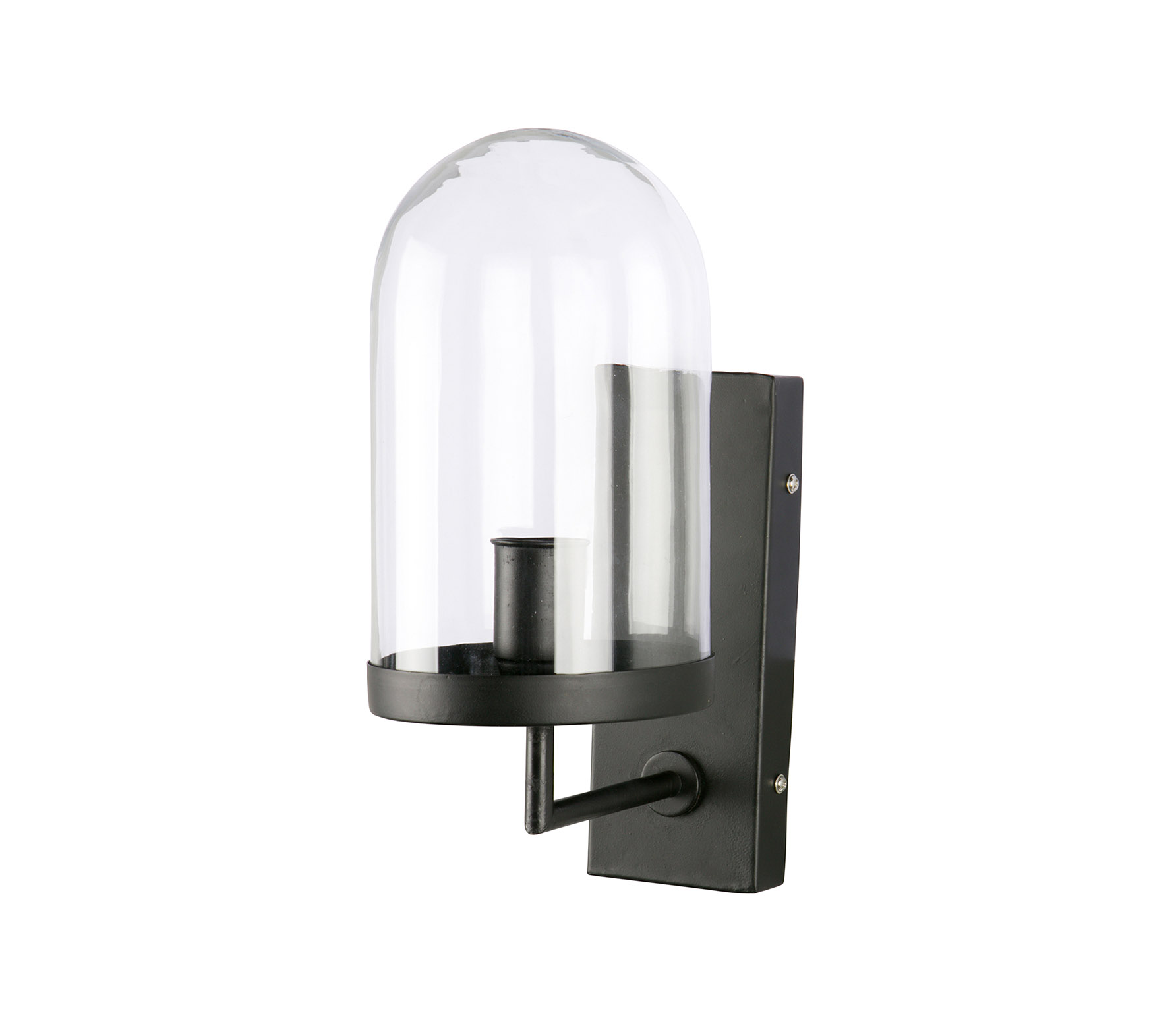 BePureHome Cover up wandlamp zwart VS 01