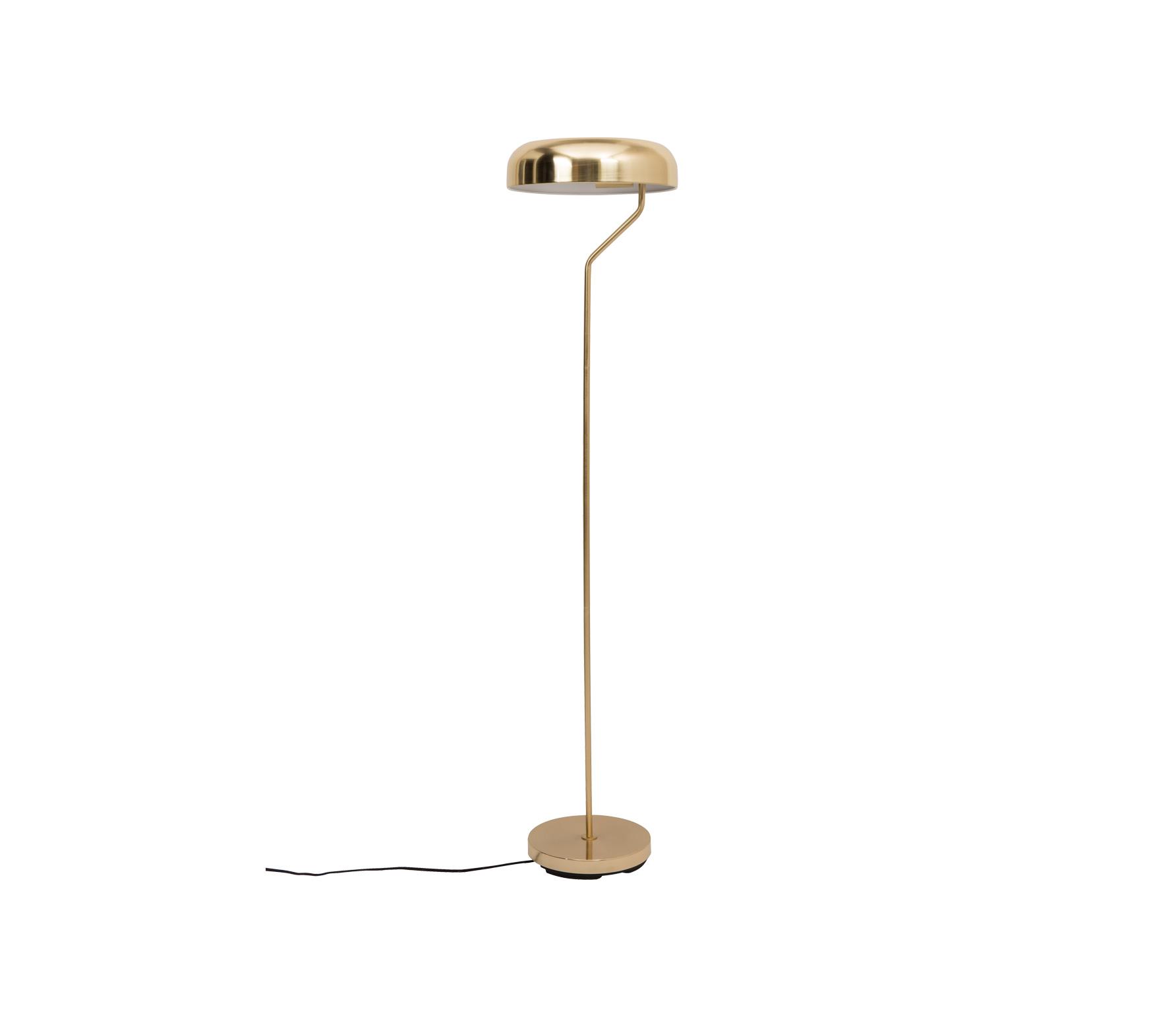Dutchbone Eclipse vloerlamp brass vrijstaand