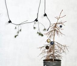 Afbeelding van product: Housedoctor Bulb lichtsnoer 10 LED lampen outdoor zwart