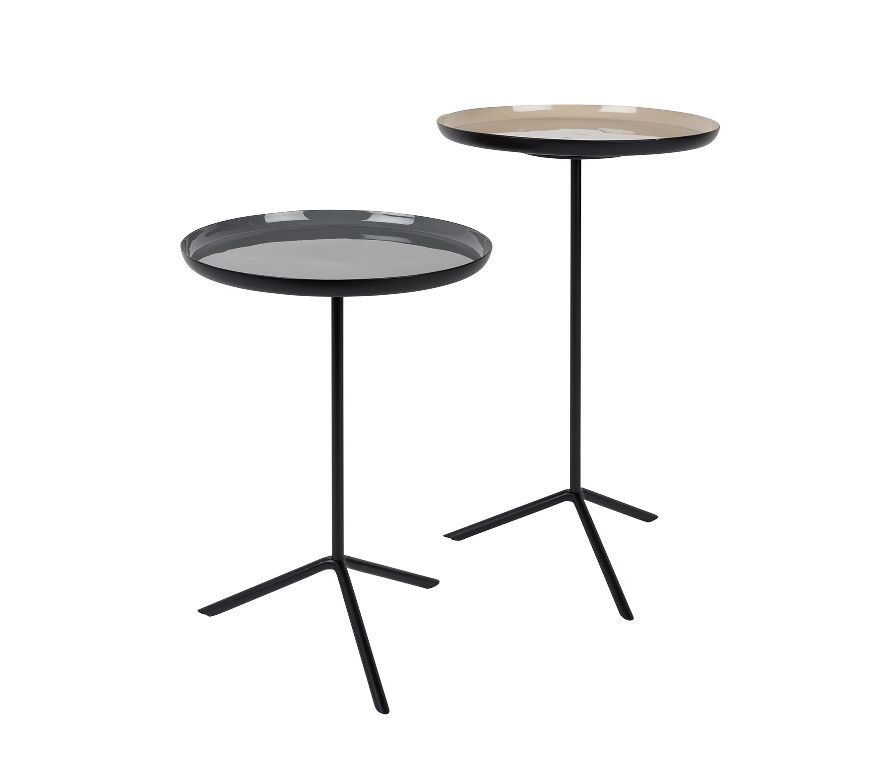 Zuiver-Sidetable-Trip-Set van 2-Enamel-VS 01
