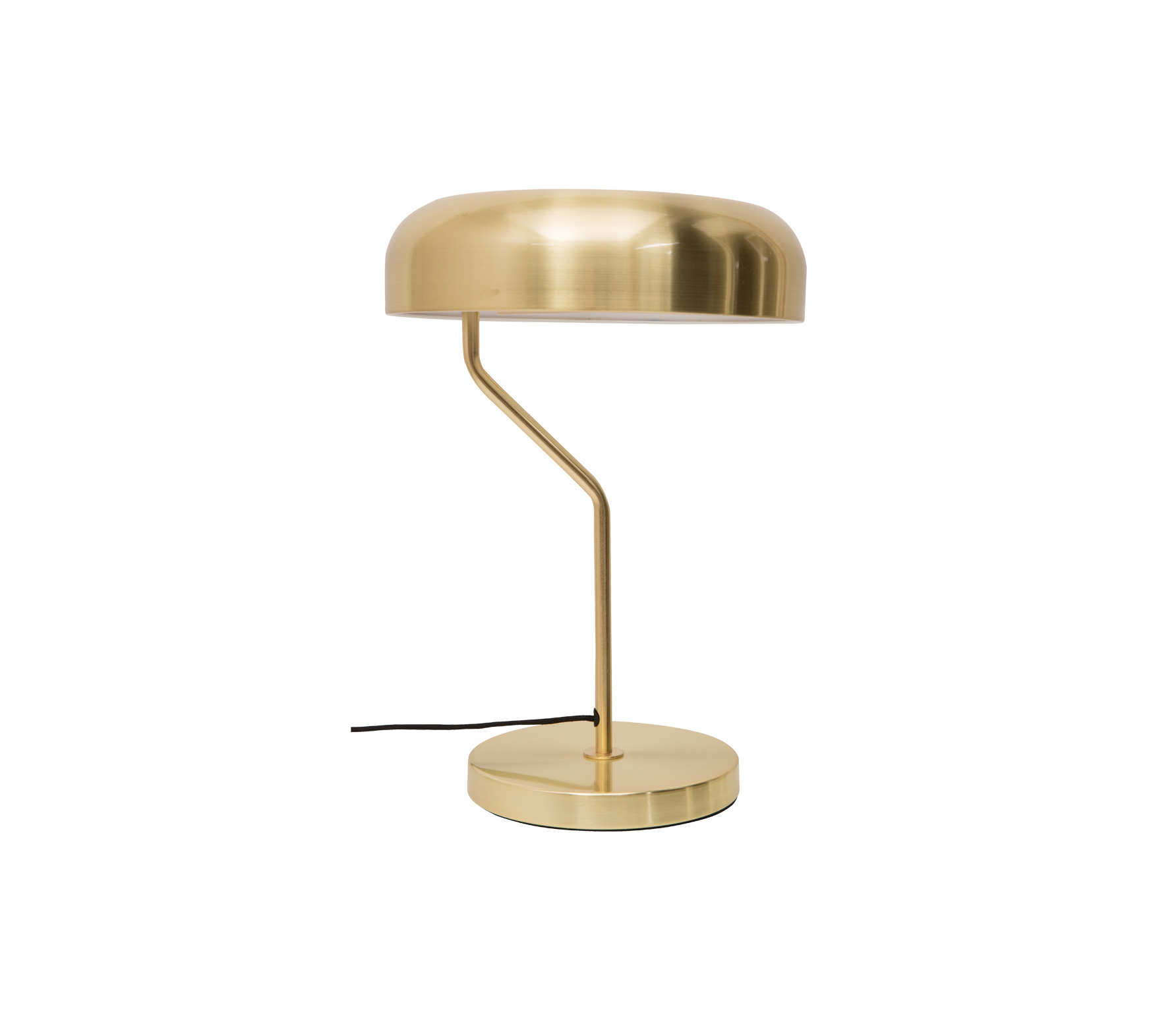 Dutchbone Eclipse tafel bureau lamp brass vrijstaand