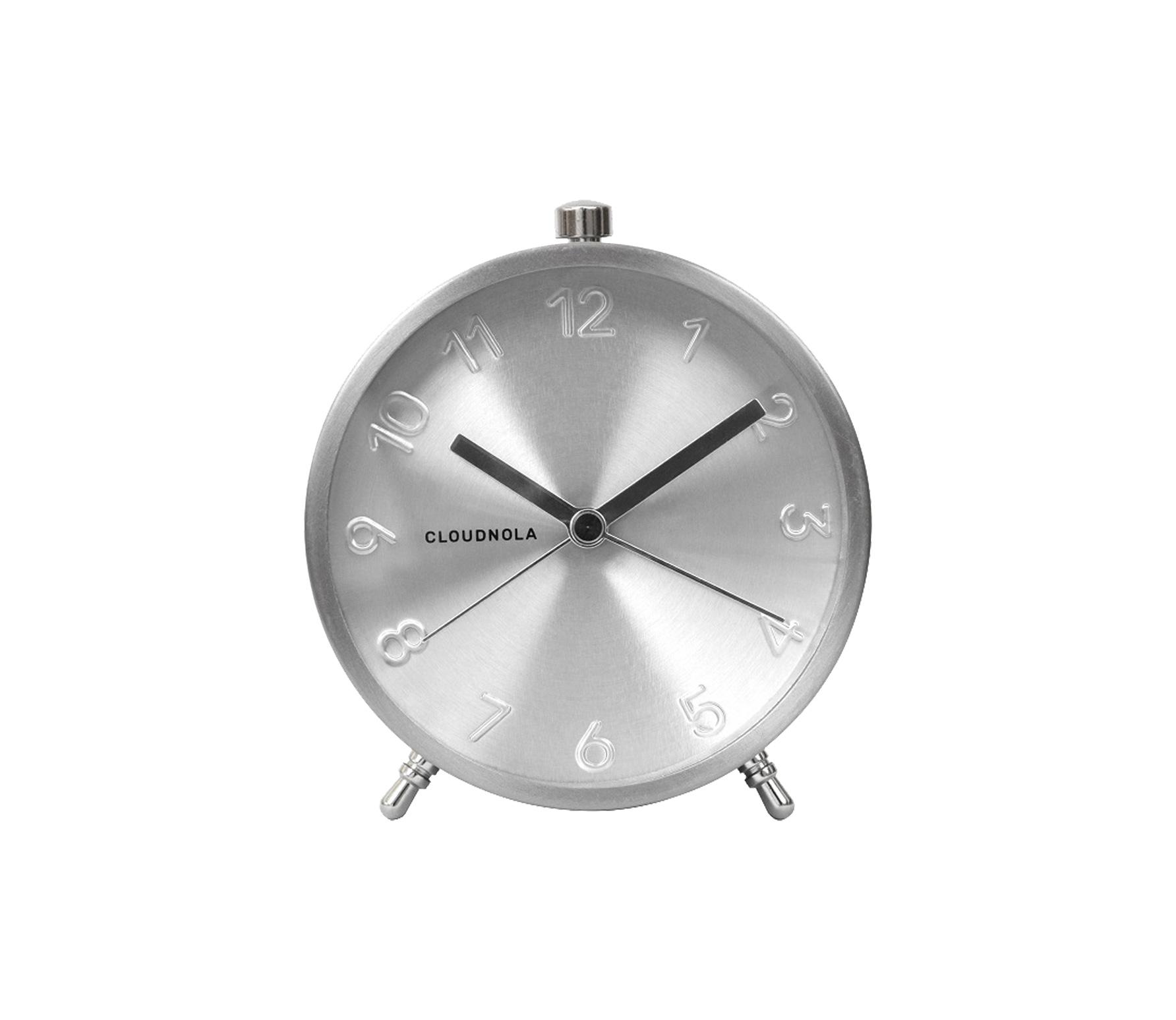 Cloudnola Glam Alarm klok silver vrijstaand
