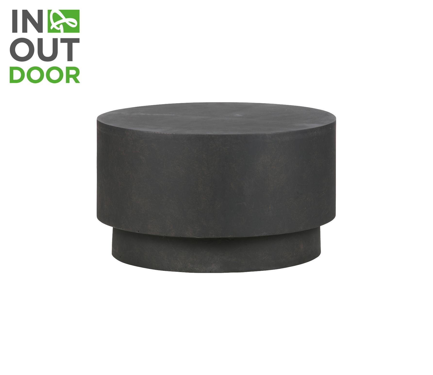 WOOOD Dean salontafel beton medium bruin vrijstaand