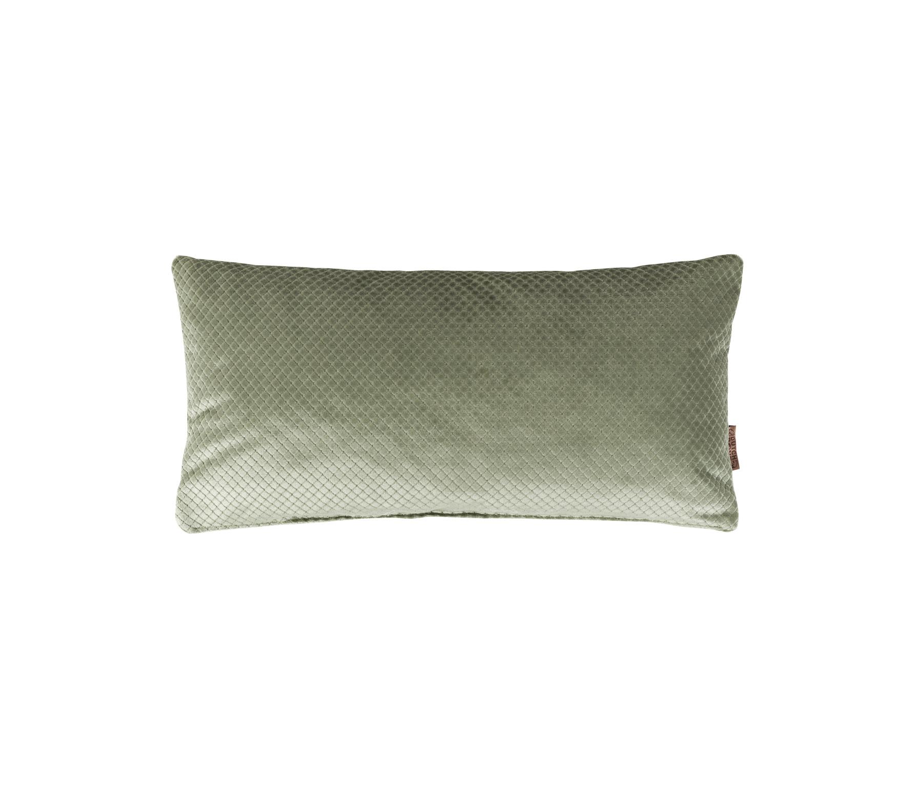 Dutchbone Spencer kussen oud groen 60x30 cm vrijstaand