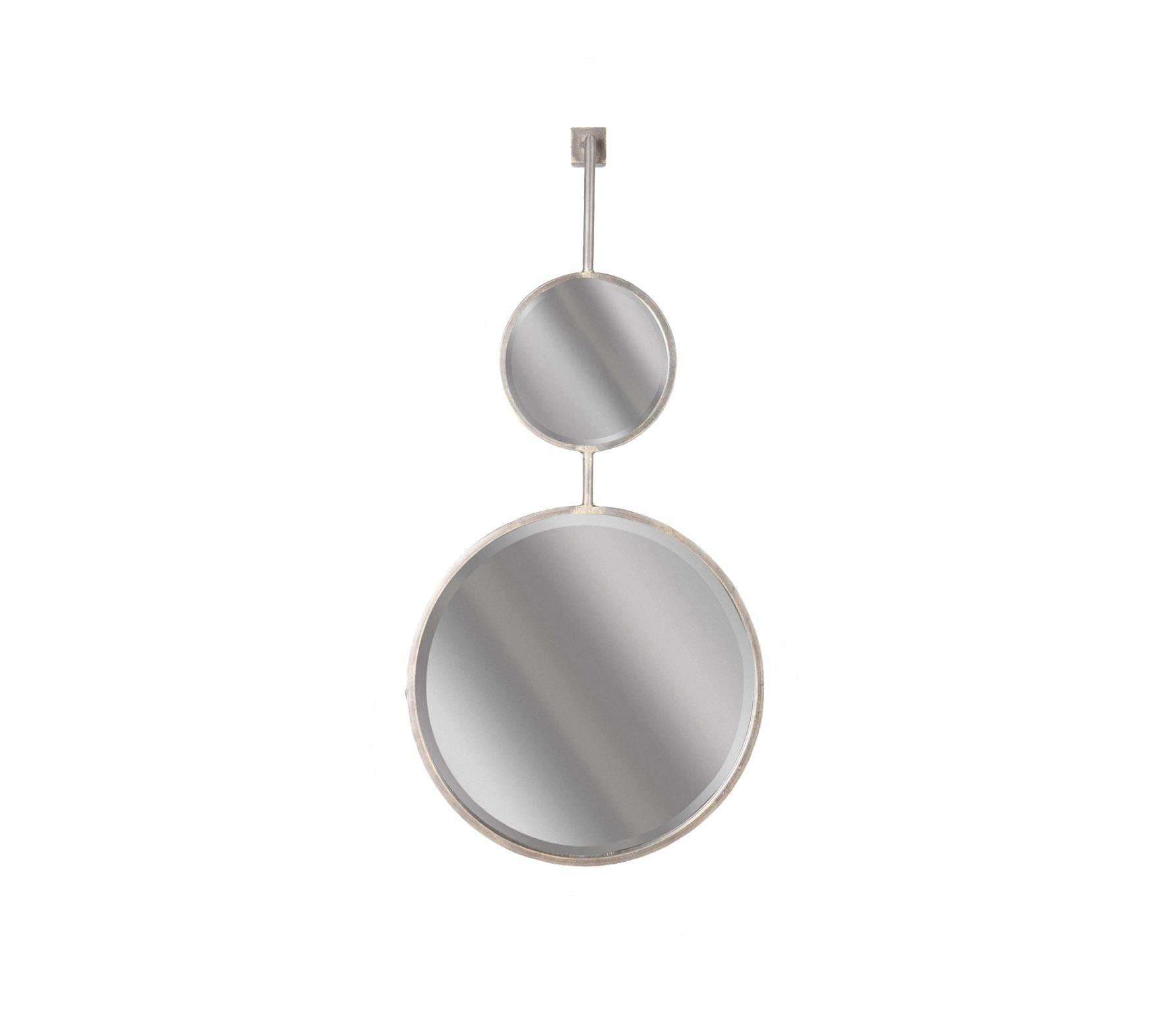 BePureHome Chain dubbele spiegel L antique zwart sfeerbeeld 4