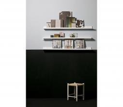 Afbeelding van product: WOOOD Wandplank fotolijsten 120 cm hout wit