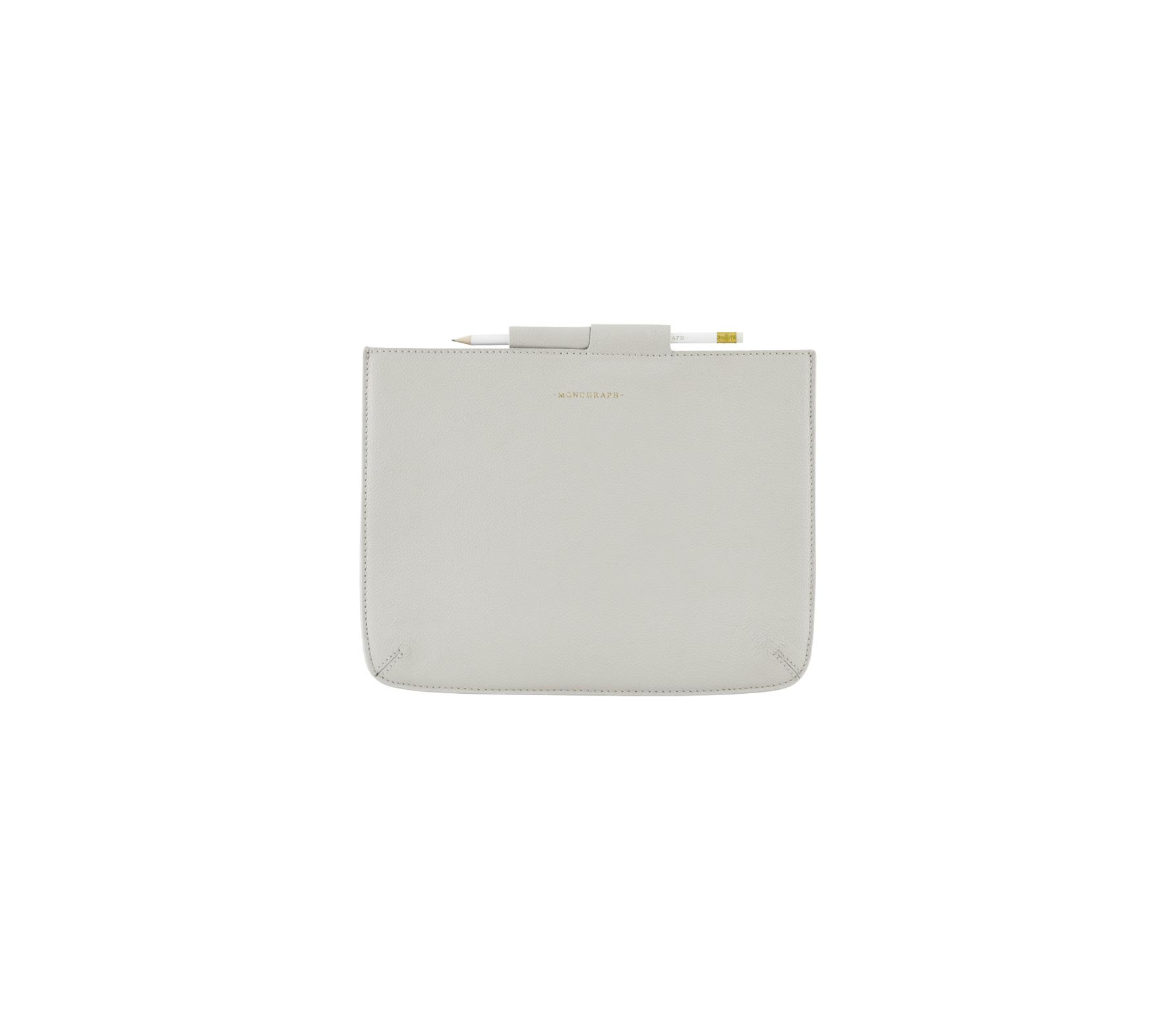 Housedoctor Cover iPad hoes leer grijs Mini 24 x 17 cm