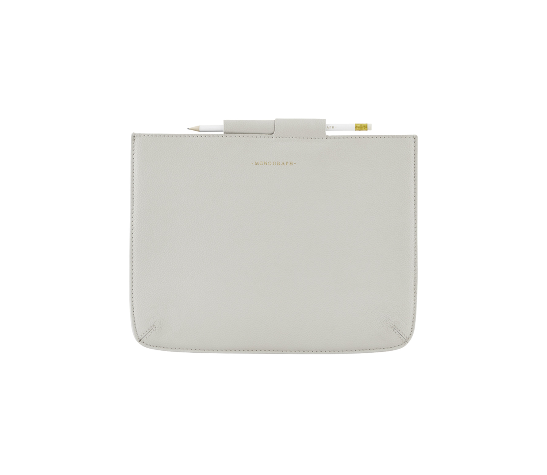 Housedoctor Cover iPad hoes leer grijs Pro 35,5 x 26,5 cm