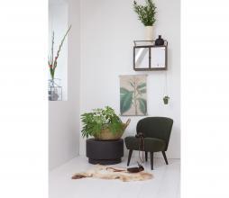 Afbeelding van product: WOOOD Dean salontafel H 32x ø 80 cm beton (binnen-buiten) bruin