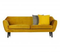 Afbeelding van product: WOOOD Rocco 2,5 zits sofa velvet oker