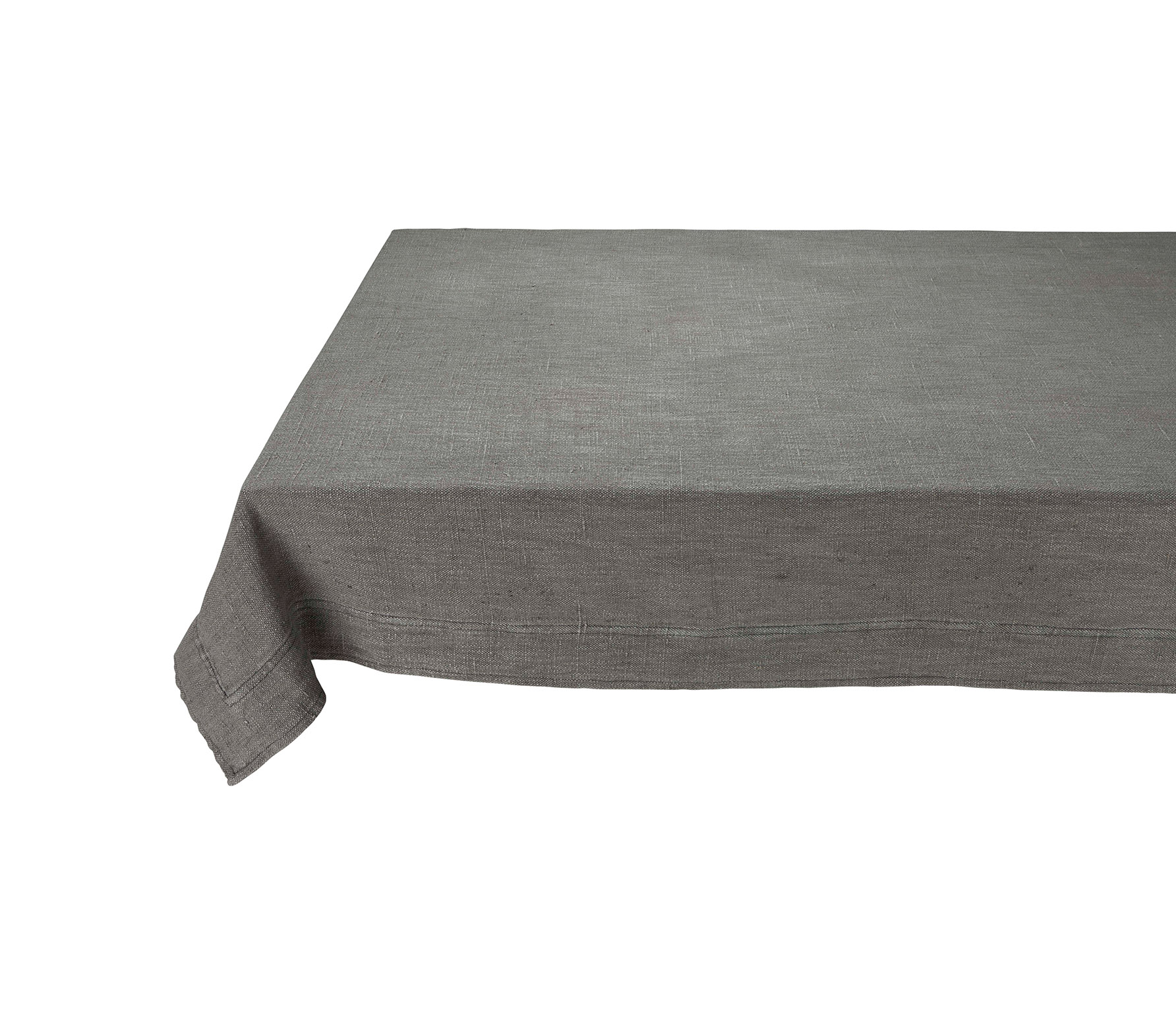vtwonen tafelkleed katoen linnen grijs vrijstaand