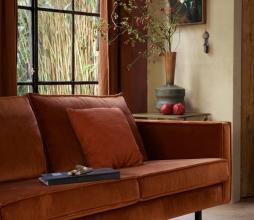 Afbeelding van product: BePureHome Rodeo 2,5 zits bank velvet roest roest
