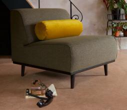 Afbeelding van product: BePureHome Spool kussenrol velvet Ø 20 x 61 cm oker