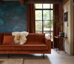 Afbeelding van product: BePureHome Rodeo 3-zits bank velvet roest roest