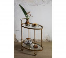 Afbeelding van product: BePureHome Push trolley antique brass antique brass