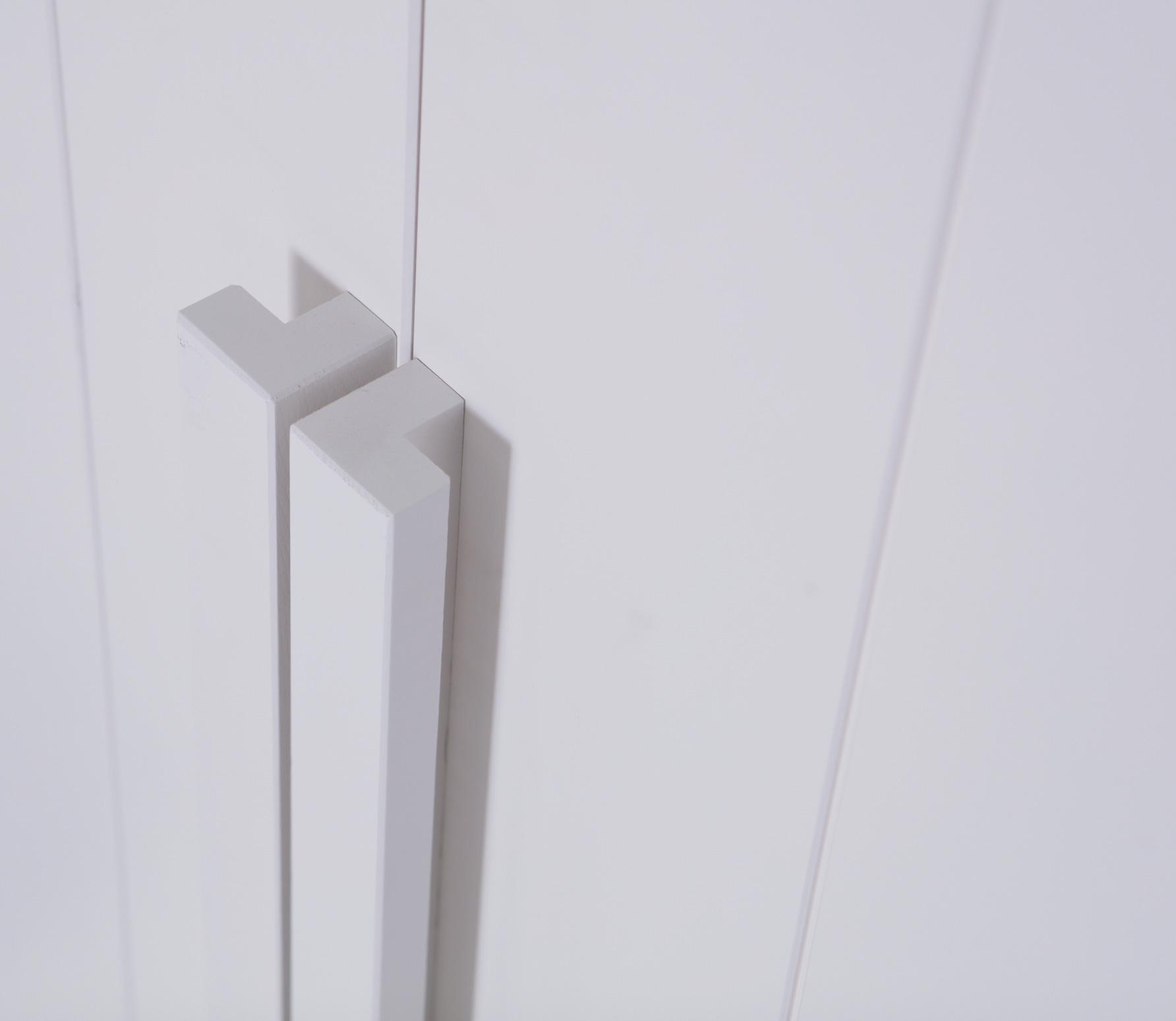 Basiclabel SKIK kast variant 14 231x95x62 cm grenen wit