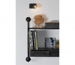 Afbeelding van product: Spotlight Sandy 1 staal zwart
