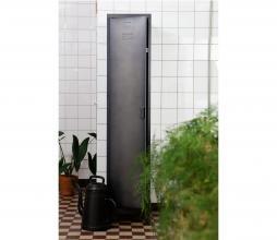 Afbeelding van product: WOOOD Cas metalen lockerkast 1 deurs 180x38x46 cm metaal zwart