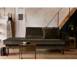 Afbeelding van product: BePureHome Rodeo daybed dark green hunter velvet rechts