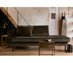 Afbeelding van product: BePureHome Rodeo daybed dark green hunter velvet links