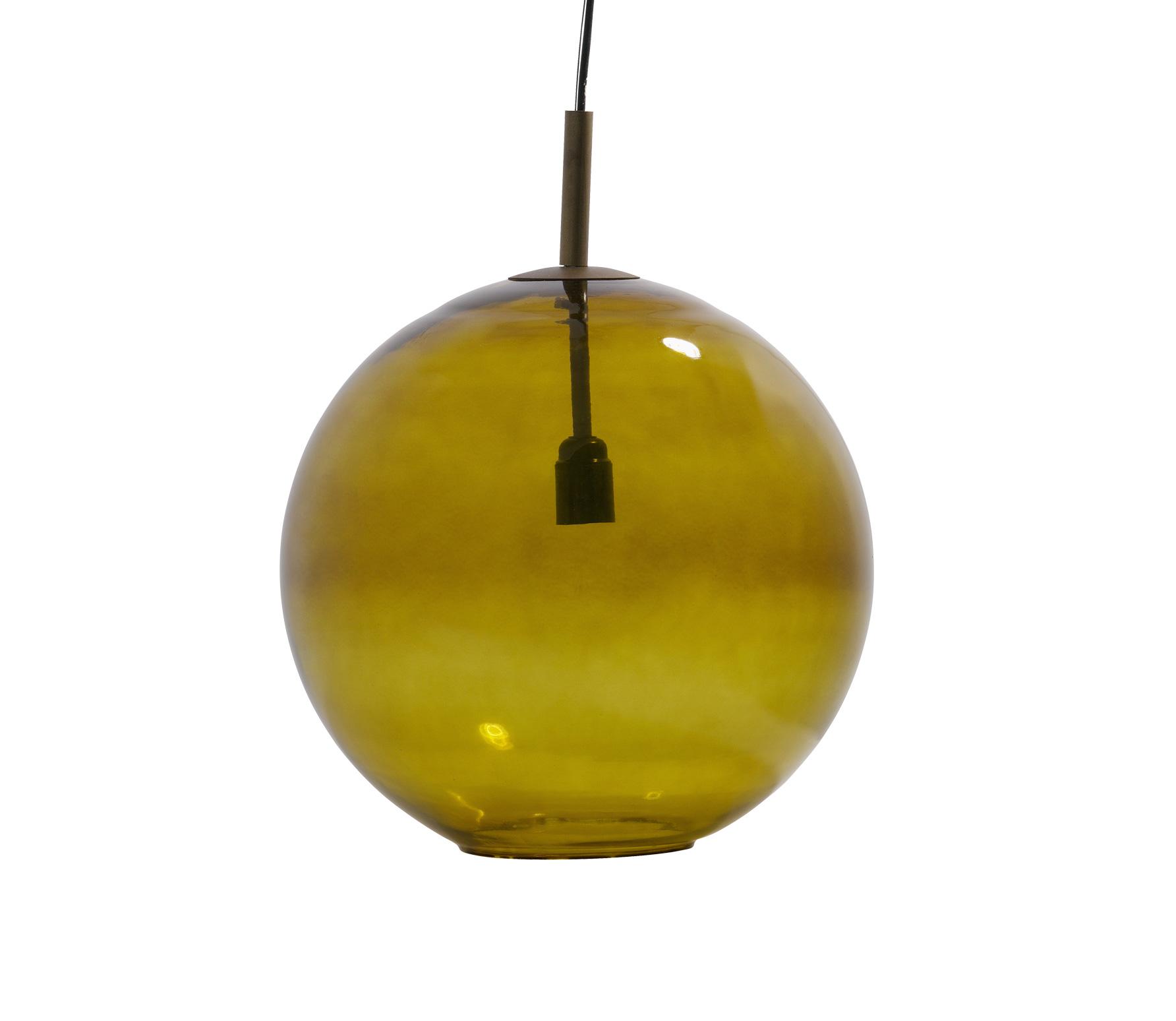 BePureHome Bold Hanglamp Large Glas - Groen