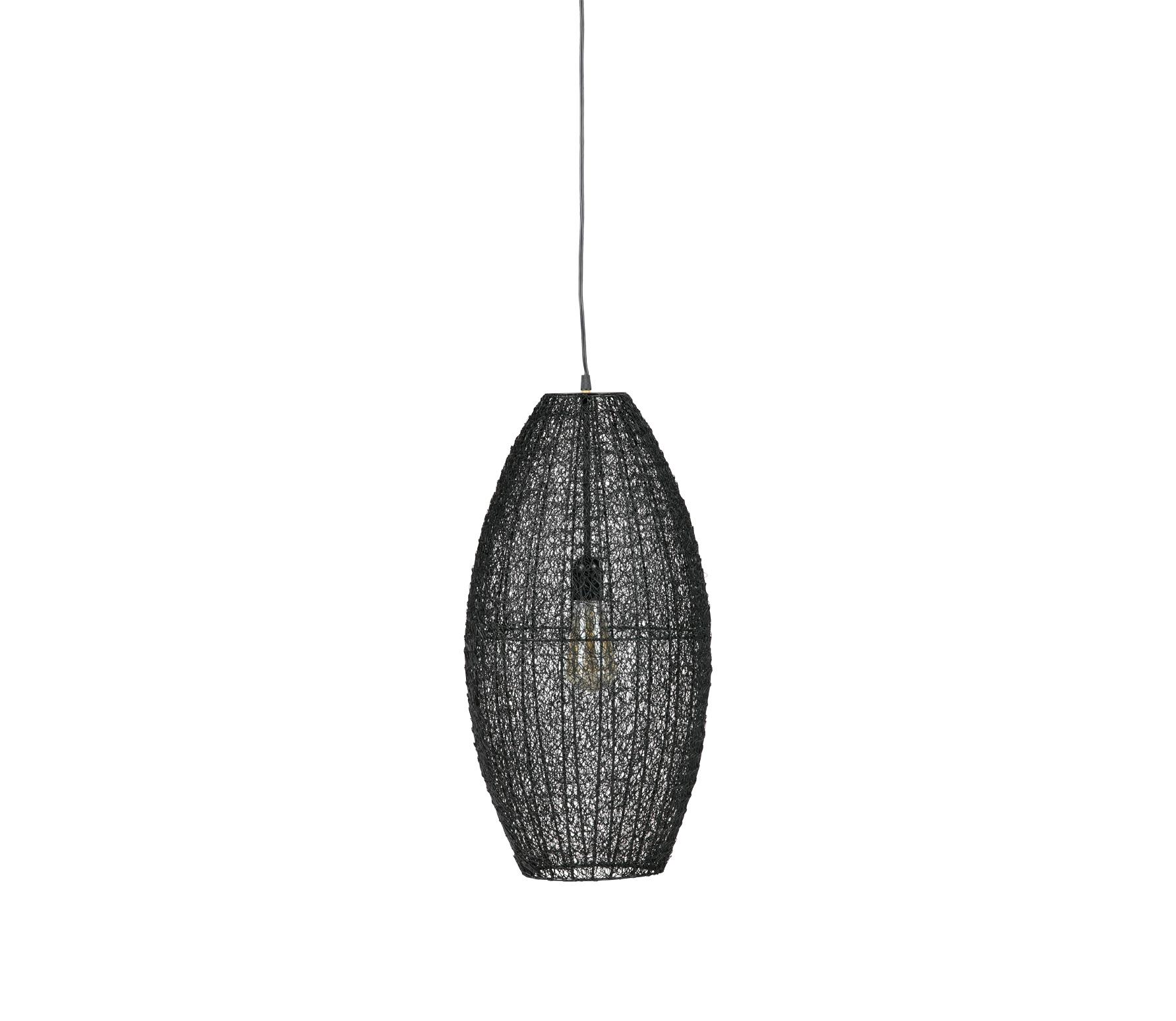 BePureHome Creative Hanglamp Metaal Zwart - Large