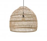 HKLiving Ball hanglamp Ø 60 cm riet naturel