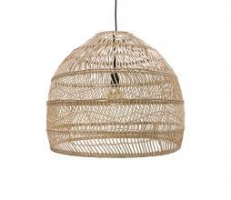 Afbeelding van product: HKLiving Ball hanglamp Ø 60 cm riet naturel