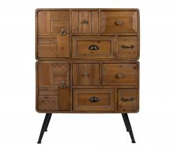 Afbeelding van product: Dutchbone Jove cabinet ladekast hout Antique finish