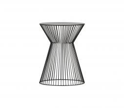 Afbeelding van product: WOOOD Suus bijzettafel Ø35 cm metaal zwart