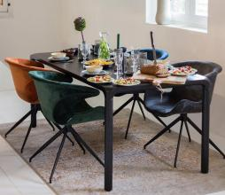 Afbeelding van product: Zuiver Mia eetkamerstoel met armleuning grijs