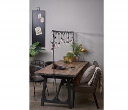 Afbeelding van product: BePureHome Craft eettafel div. afmetingen grenen zwart gelakt Grenen gevlekt 190x90 cm