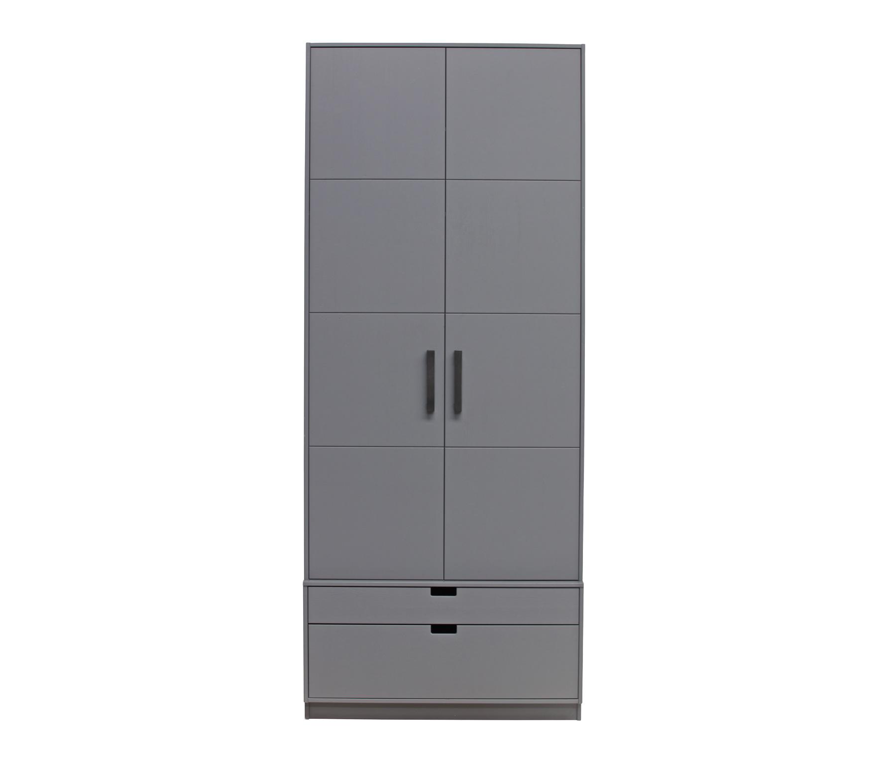 Basiclabel SKIK kast variant 16 231x95x62 cm grenen leem