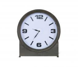 Afbeelding van product: BePureHome Ageless klok met verlichting metaal zwart
