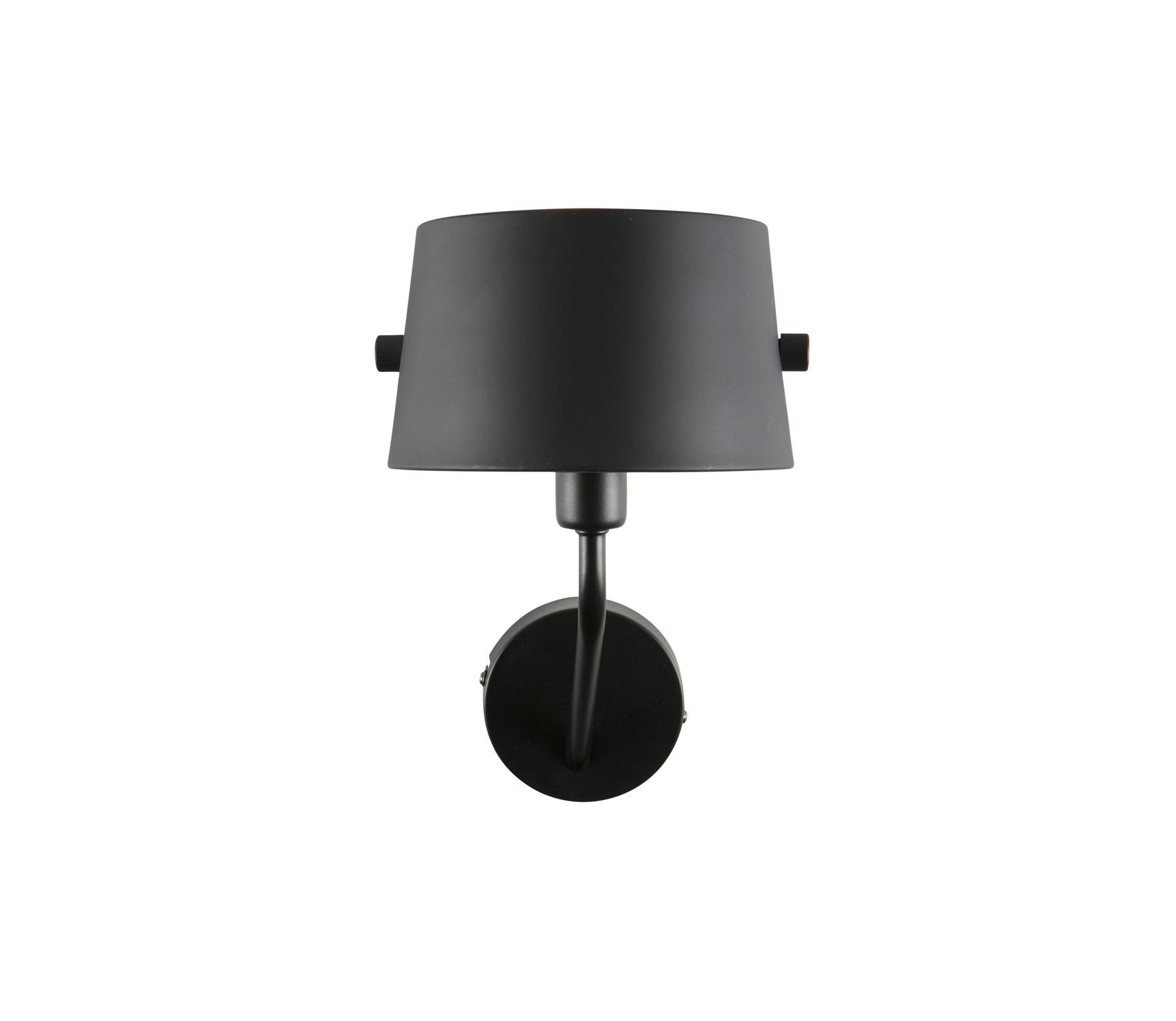 Woood Pien Wandlamp Zwart - Metaal