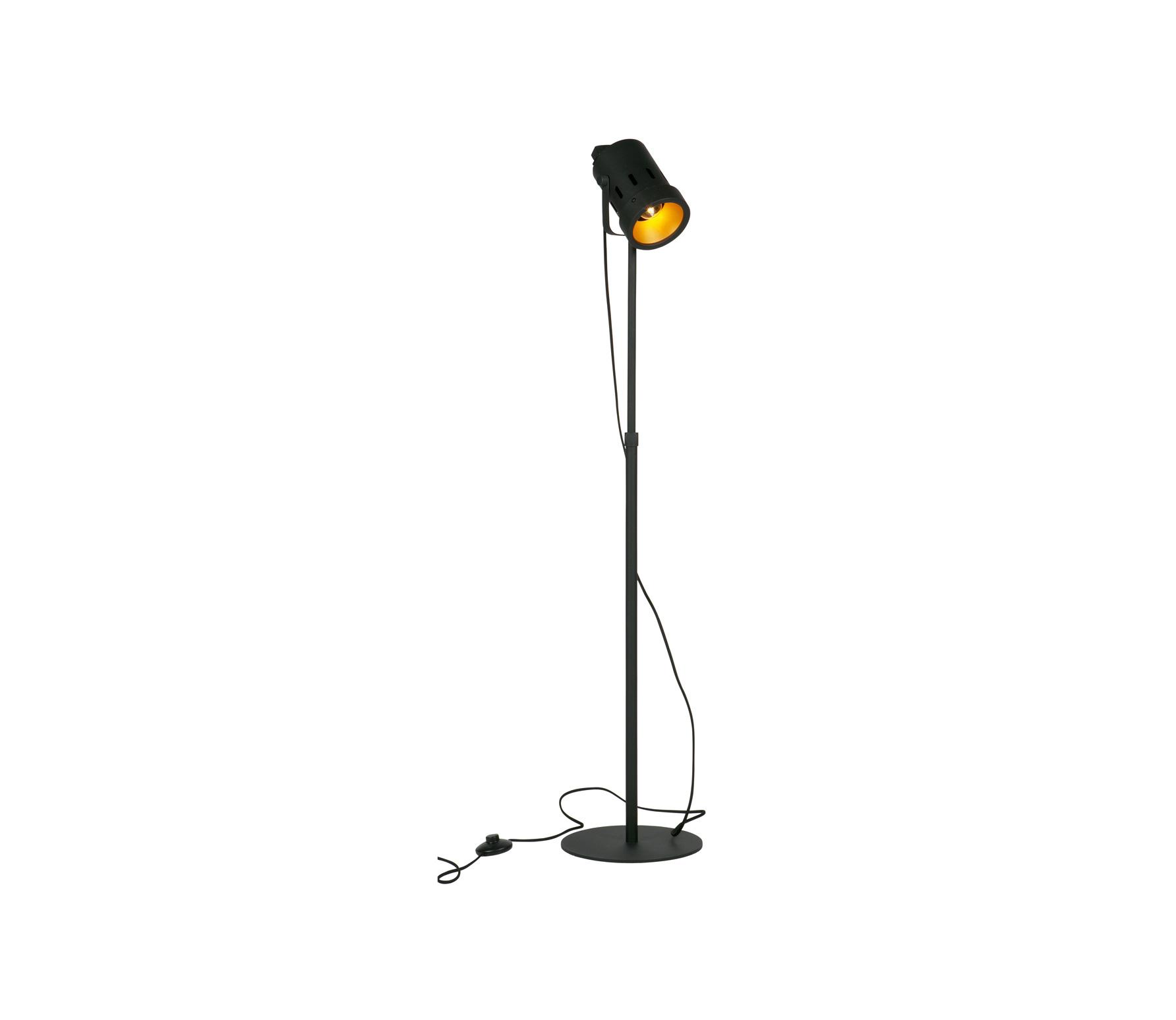 WOOOD Exclusive Bente vloerlamp metaal zwart