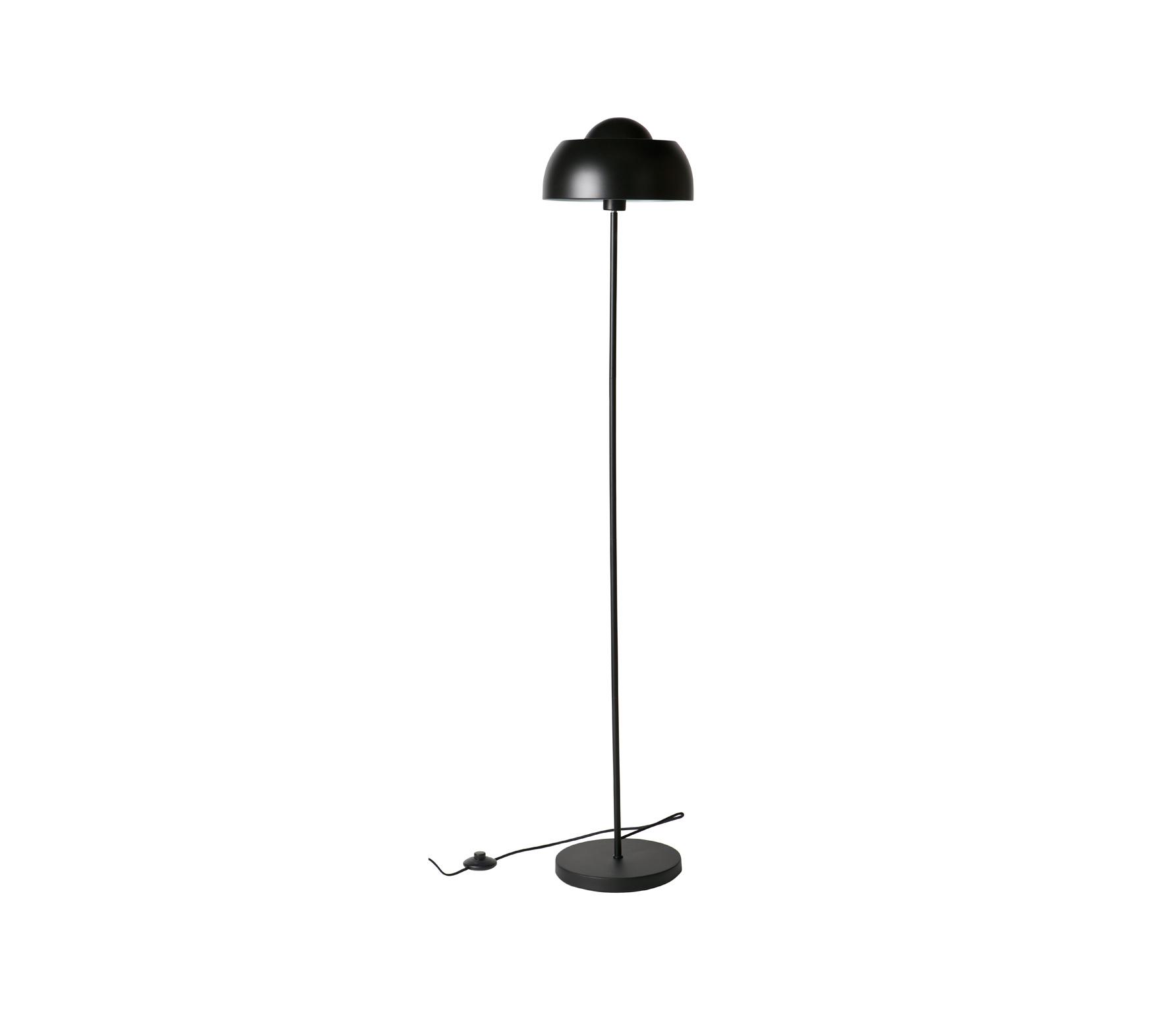 WOOOD Exclusive Yvet vloerlamp metaal zwart