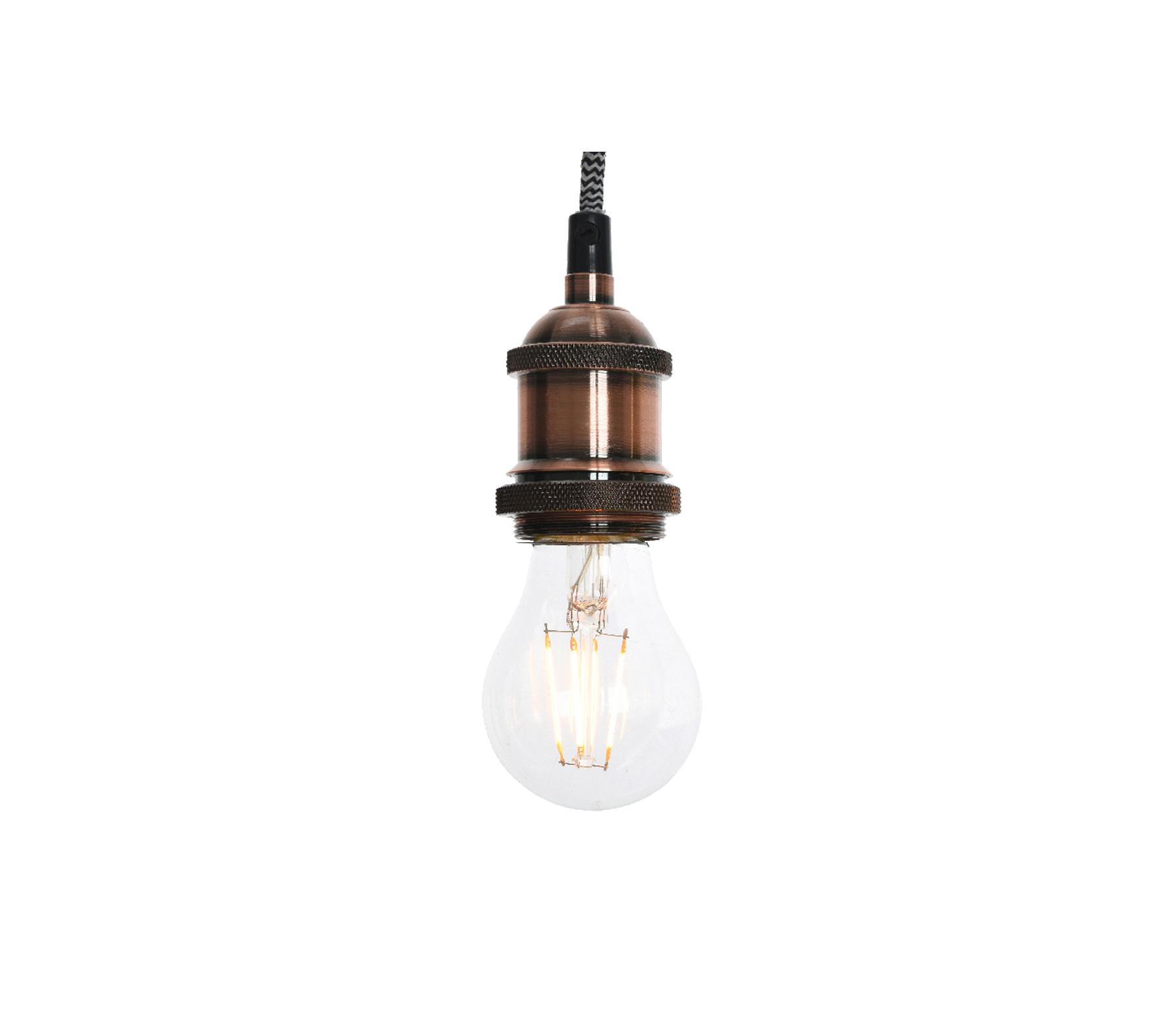 Hanglamp koperkleurig exclusief lamp metaal