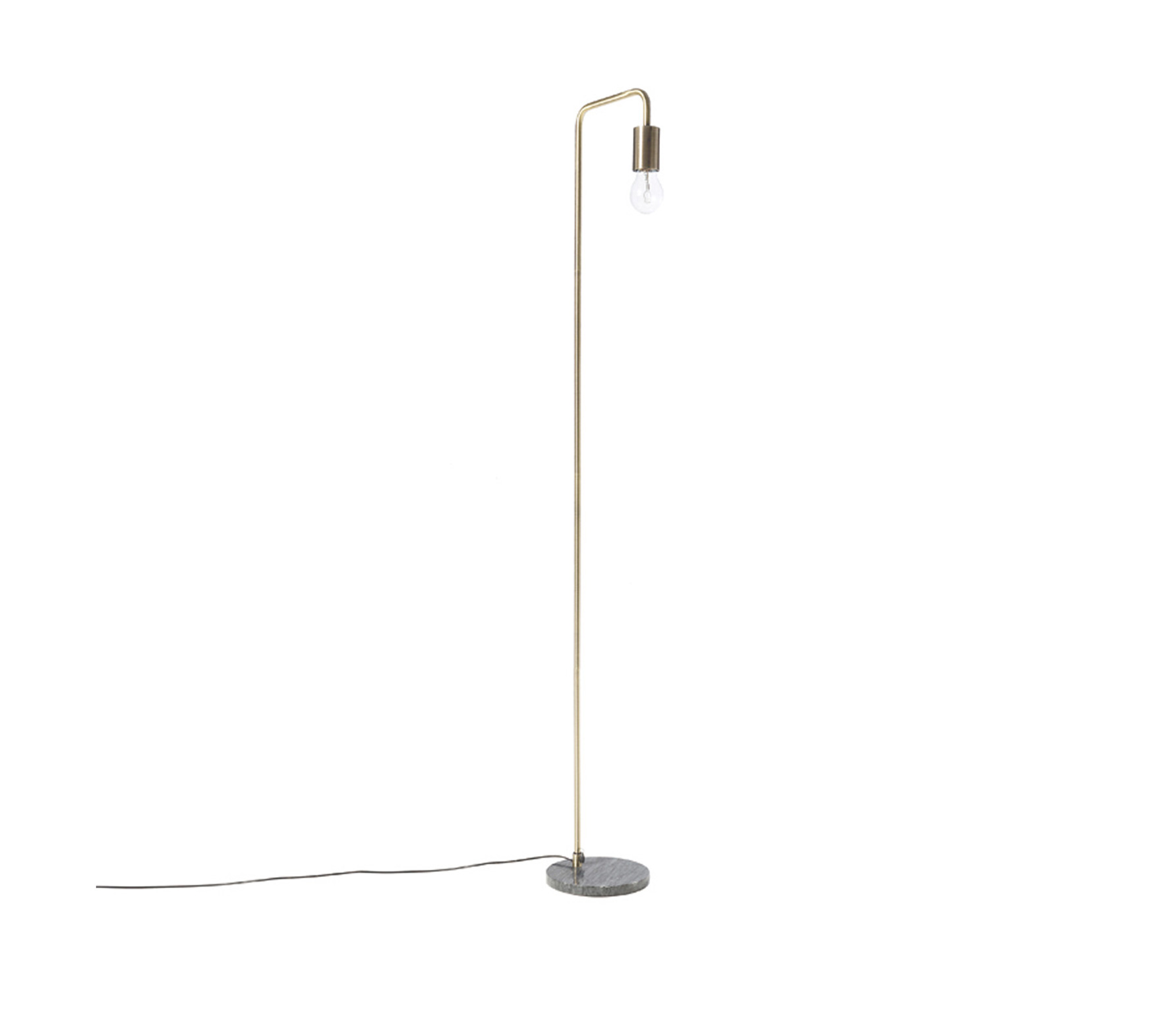 Riverdale staande lamp Marble donkergrijs 138 cm