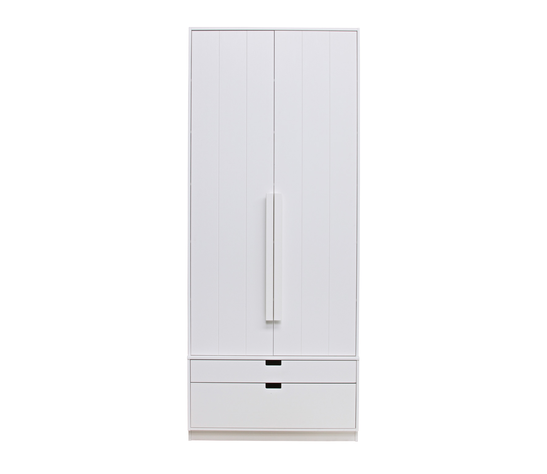 Basiclabel SKIK kast variant 20 wit 231x95x62 cm massief grenen