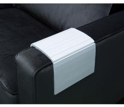 Afbeelding van product: Woood flexibele dienblad armleuning hout wit normaal