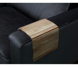 Afbeelding van product: WOOOD Flexibel dienblad armleuning eiken antique finish Normaal