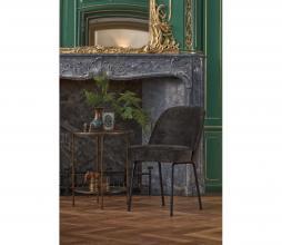 Afbeelding van product: BePureHome Vogue eetkamerstoel velvet onyx