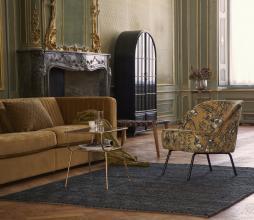 Afbeelding van product: BePureHome Amazing bijzettafel antique brass metaal-glas