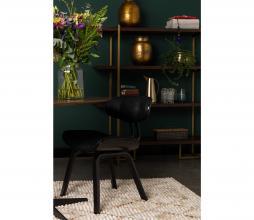 Afbeelding van product: Dutchbone stoel Blackwood PU leer zwart